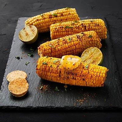 Corn with smoky cajun