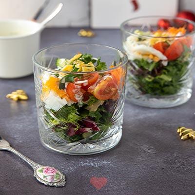 Salade glaasje