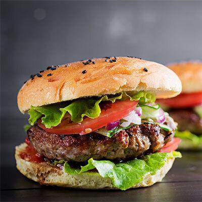 Hamburger angus